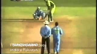 Inzamam VS Sachin { Cricket at its very best } 2 of the greatest batsman ever