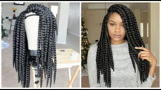 getlinkyoutube.com-How I Made My Braided Wig | Tutorial! | GIVEAWAY | SamsBeauty.com