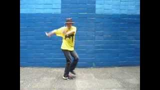 getlinkyoutube.com-天てれ MTK 【1-2-3】 そこそこダンス振付コピー:普通系