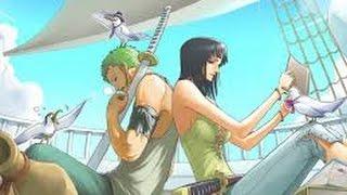 getlinkyoutube.com-Zoro and Robin moments