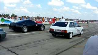 getlinkyoutube.com-Toyota supra vs Vaz 2108
