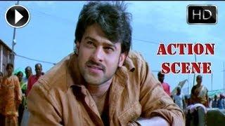 Ek Niranjan Movie | Prabhas Best  Action Scene And Dailouges