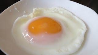 getlinkyoutube.com-【簡単レシピ】レンジで目玉焼き