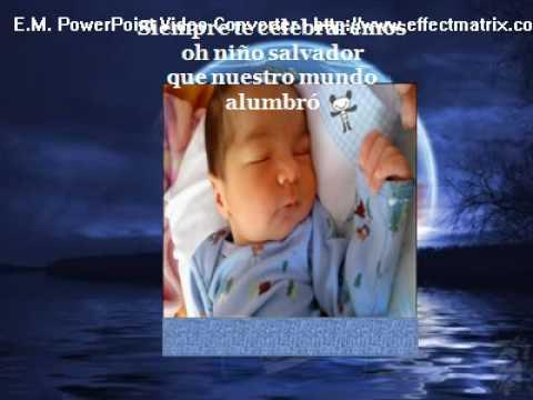 Jesus Te quiero adorar Video Cristiano con Karaoke Cristiano Y musica Cristiana en esta Navidad