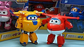 getlinkyoutube.com-Super Wings Transforming Planes Toy Review