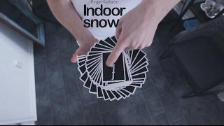 getlinkyoutube.com-INDOOR SNOW  | Cardistry | Birger Karlsson | 2017