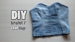 getlinkyoutube.com-DIY Bralet / Crop Top