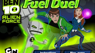 getlinkyoutube.com-Ben 10 Games to Play Online 2015 - Ben 10 Fuel Duel, Ben 10 Gameplay 2015,  Alien Force Games