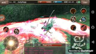 Iruna Online - Beast Knight (special sword)