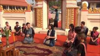 getlinkyoutube.com-เจ้าหญิงภูฏาน เสด็จอำเภอนาหว้า 18 มค 2557 Bhutanese princess visit NaWaa Nakhonphanom