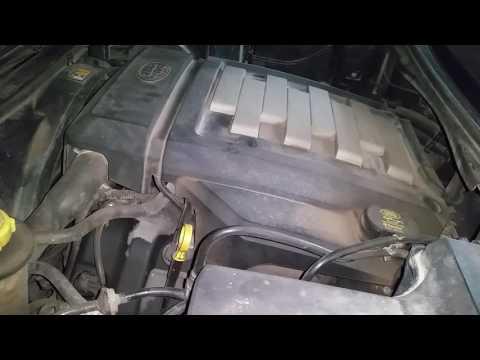 Стук двигателя при заводе Discovery 3 4.4 ягуар.