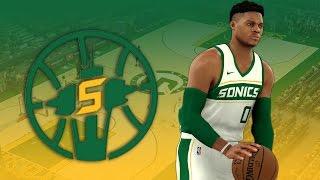 NBA 2K17 Seattle SuperSonics Rebrand Tutorial