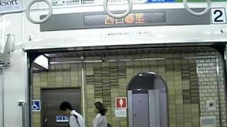 getlinkyoutube.com-小田急電鉄 1000形電車 東京地下鉄千代田線内 西日暮里→千駄木