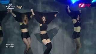 getlinkyoutube.com-เพลงเกาหลีกับท่าเต้นที่ร้อนแรงที่สุดในต้นปี 2014 (JIYEON - NEVER EVER 1분1초 )