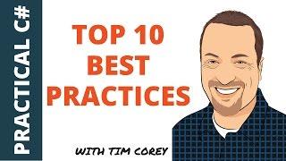 Top 10 C# Best Practices (plus bonuses)
