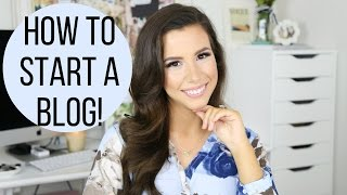 How To Start A Fashion, Beauty, or Lifestyle Blog! | hayleypaige