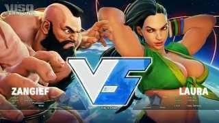 getlinkyoutube.com-WSO Sessions 13/10/15 P2 - Street Fighter V, Zangief & Laura Showcase