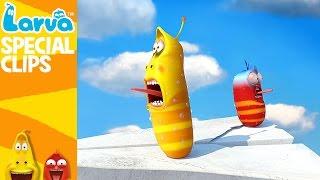 getlinkyoutube.com-[Official] Flying Larva - 1 MIN - Fun Clips from Animation Larva