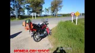 getlinkyoutube.com-viaje costa ROU hasta Brasil en honda cb1 dia 1