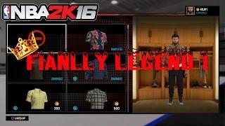 getlinkyoutube.com-Nba2k16 Finally Legend 1!!!