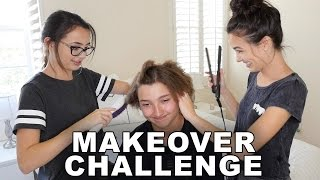 Makeover Challenge - Merrell Twins