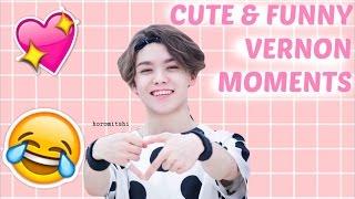 getlinkyoutube.com-SEVENTEEN Vernon Cute & Funny Moments