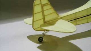 getlinkyoutube.com-Rubber powered scale model airplanes