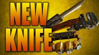 getlinkyoutube.com-NEW MELEE WEAPONS! Butterfly Knife, Wrench, and Brass Knuckles (Black Ops 3 DLC)