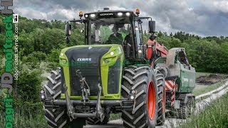 getlinkyoutube.com-NEW CLAAS Xérion 5000 TRAC VC at Work 2015 !!!