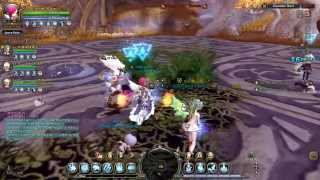 getlinkyoutube.com-Dragon Nest - PVE T5 - lvl 70 Elestra / Ice Witch in Guardian Nest (speed run)