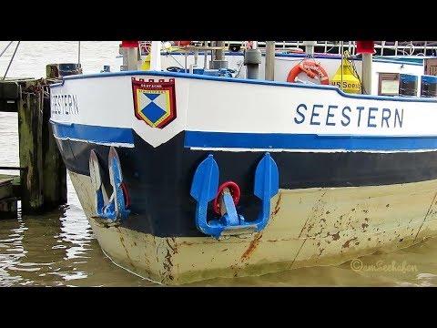 Click to view video GMS SEESTERN DC3934 MMSI 211537060 Emden riverbarge inland cargo ship Binnenschiff