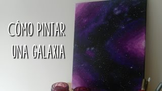 getlinkyoutube.com-Cómo pintar una galaxia | DoitMery