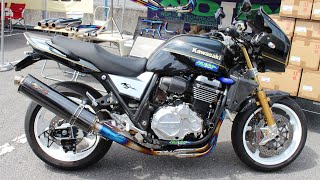 getlinkyoutube.com-Kawasaki ZRX1200DAEG NOJIMA ENGINEERING INC 《JMCA認定マフラー》