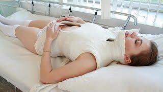 getlinkyoutube.com-Victoria Risser Plaster Body Cast