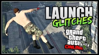 getlinkyoutube.com-GTA 5 Online - TOP 5 LAUNCH GLITCHES! *After Patch 1.30* (BEST Launch Glitches)