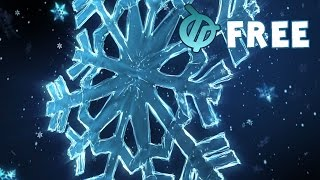 getlinkyoutube.com-Free Snow Flake Animation