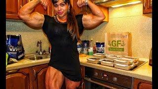 getlinkyoutube.com-THE MOST MUSCULAR WOMAN IN THE WORLD !!! NATALIYA AMAZONKA !