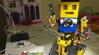 getlinkyoutube.com-Moby v2 Build Walkthrough and Demo  (The LittleBits/Lego robot)