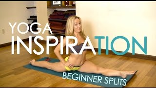 getlinkyoutube.com-Beginner Splits in Yoga with Kino MacGregor