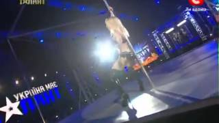 getlinkyoutube.com-Ukrayna'daki Yetenek Yarışmasındaki Striptiz Şov