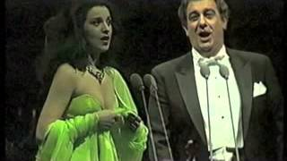 getlinkyoutube.com-Angela Gheorghiu/Placido Domingo - L'elisir d'amore: Caro elisir - Turku 1992