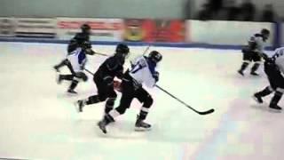 getlinkyoutube.com-Huge Hockey Hit! Kid gets cranked!