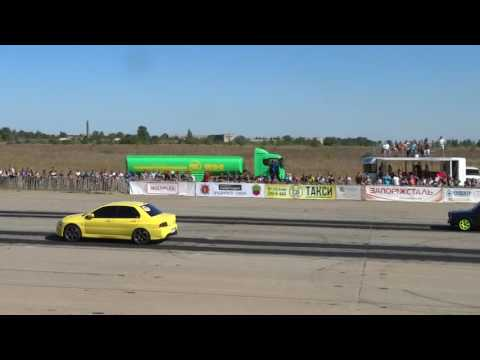 Mitsubishi Lancer Evolution vs Lada 2107