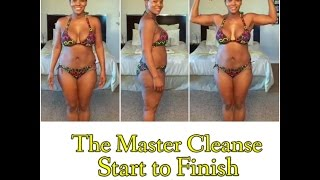 getlinkyoutube.com-Master Cleanse Before & After (Start to Finish: Da