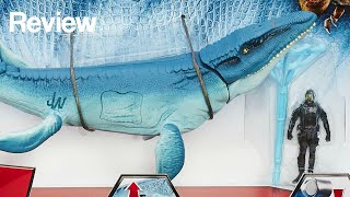 getlinkyoutube.com-Jurassic World Mosasaurus vs. Submarine Pack Toy Review