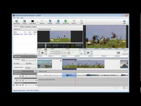 VideoPad Video Editor Tutorial - Part 1