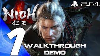 getlinkyoutube.com-Nioh (PS4) - Gameplay Walkthrough Part 1 - Full Alpha Demo [1080P 60FPS]