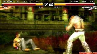 getlinkyoutube.com-Tekken 5 - Story Battle - Lei Playthrough
