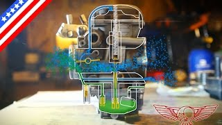 getlinkyoutube.com-How does the CV carburetor work and adjustment screw - ep 26 - Roma Custom Bike