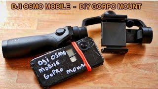 getlinkyoutube.com-DJI OSMO MOBILE - DIY GoPro mount